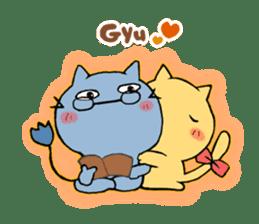 Cat couple sticker #164937