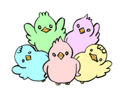 Birdsssss sticker #164975