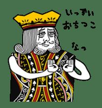 King under high-pressure sticker #165500