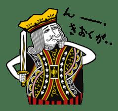 King under high-pressure sticker #165505