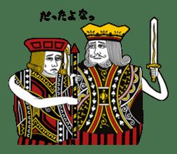King under high-pressure sticker #165506