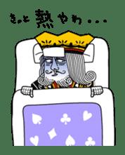 King under high-pressure sticker #165509