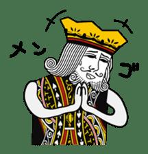 King under high-pressure sticker #165510