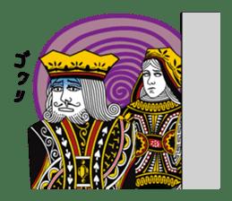 King under high-pressure sticker #165513