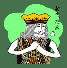 King under high-pressure sticker #165516