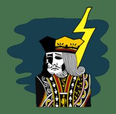 King under high-pressure sticker #165531
