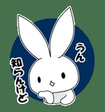 Panda and rabbit sticker #165544