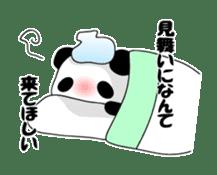Panda and rabbit sticker #165557