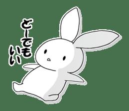 Panda and rabbit sticker #165558