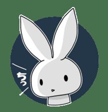 Panda and rabbit sticker #165560