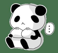 Panda and rabbit sticker #165561