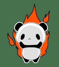 Panda and rabbit sticker #165565