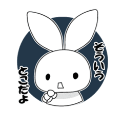 Panda and rabbit sticker #165571