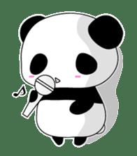 Panda and rabbit sticker #165572