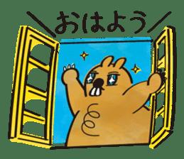 Groundhog sticker #166034