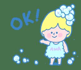 Fairy bubble! sticker #166529