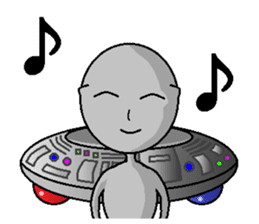alien sticker #166619