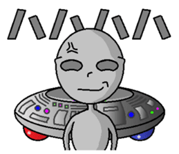 alien sticker #166626