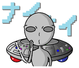 alien sticker #166634