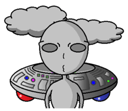 alien sticker #166641