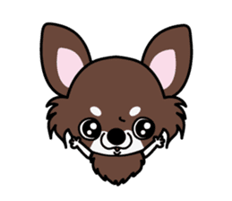 UG U+x+U DOGS (Chihuahua and Poodle) sticker #167662