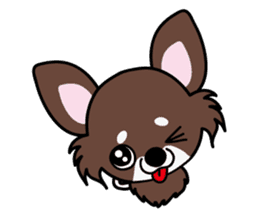 UG U+x+U DOGS (Chihuahua and Poodle) sticker #167665