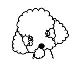 UG U+x+U DOGS (Chihuahua and Poodle) sticker #167673