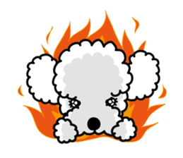 UG U+x+U DOGS (Chihuahua and Poodle) sticker #167676