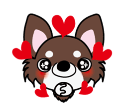 UG U+x+U DOGS (Chihuahua and Poodle) sticker #167677