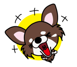 UG U+x+U DOGS (Chihuahua and Poodle) sticker #167685