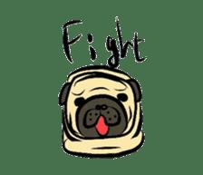 Pugsaku sticker #167901