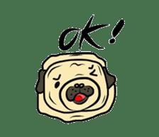 Pugsaku sticker #167903