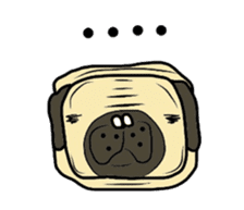 Pugsaku sticker #167905