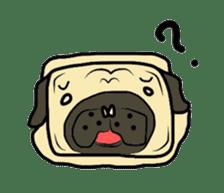 Pugsaku sticker #167906