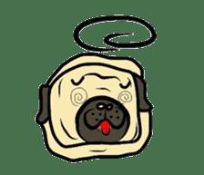Pugsaku sticker #167907