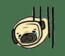 Pugsaku sticker #167908
