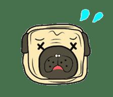 Pugsaku sticker #167910