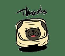 Pugsaku sticker #167913