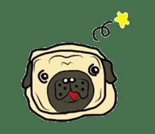 Pugsaku sticker #167915