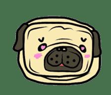 Pugsaku sticker #167918