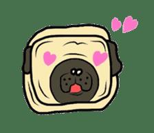 Pugsaku sticker #167919