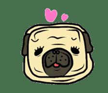 Pugsaku sticker #167920
