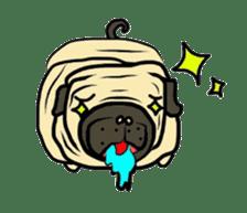 Pugsaku sticker #167921
