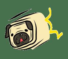 Pugsaku sticker #167922