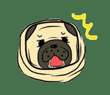 Pugsaku sticker #167923