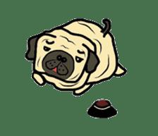 Pugsaku sticker #167926