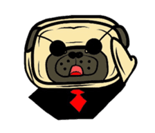 Pugsaku sticker #167929
