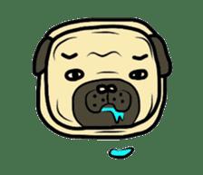 Pugsaku sticker #167930