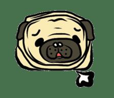 Pugsaku sticker #167931
