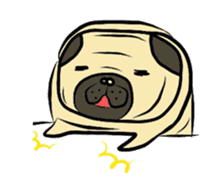 Pugsaku sticker #167932
